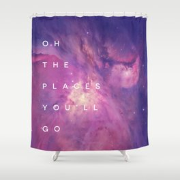 The Places You'll Go II Shower Curtain