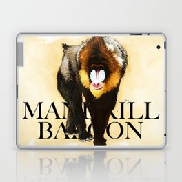 Mandrill Laptop & iPad Skin