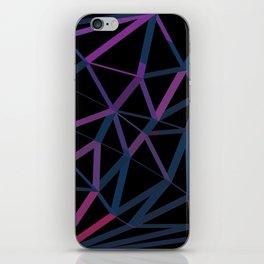 3D Futuristic GEO Lines iPhone Skin