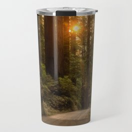 Sunrise in the Redwoods Travel Mug