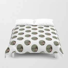 Daryl Dixon from The Walking Dead Duvet Cover