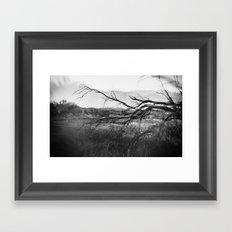 Landscape with Tree Framed Art Print