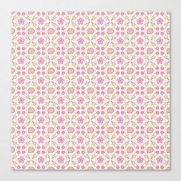 Hanami Nummies   Blush Canvas Print