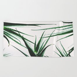 plant vibes Beach Towel