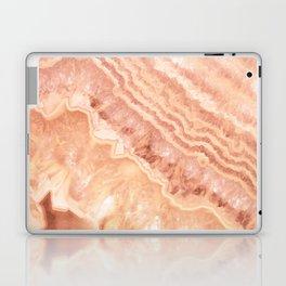 Champagne onyx marble Laptop & iPad Skin