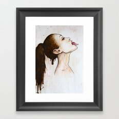 Taste it Framed Art Print
