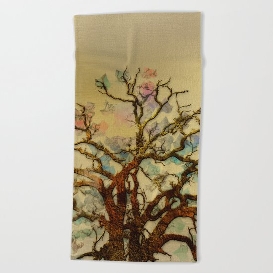 Magic Tree Beach Towel