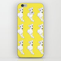 puppies iPhone & iPod Skins featuring whippet puppies  by Emese M