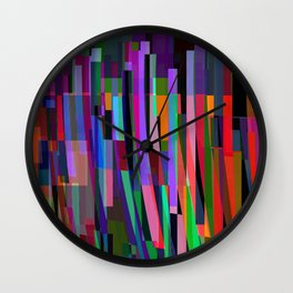 stand up for color Wall Clock