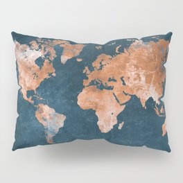 world map 15 Pillow Sham