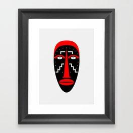 Ligbi Mask Framed Art Print