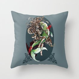 Christmas in Blood: PF 2013 Throw Pillow