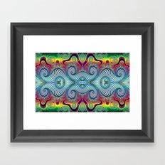 BBQSHOES: Wurburbo Digital Art Design Framed Art Print