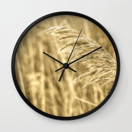 Common reed Wall Clock