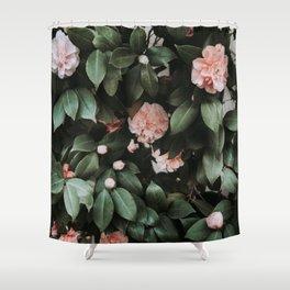 Light Pink Camellias Shower Curtain