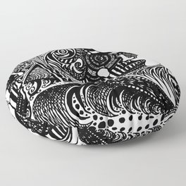 Head Trip Floor Pillow