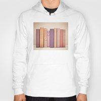literary Hoodies featuring Literary Gems II by Laura Ruth