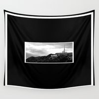 hollywood Wall Tapestries featuring Hollywood by Derek Delacroix