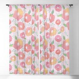Blossoms Sheer Curtain