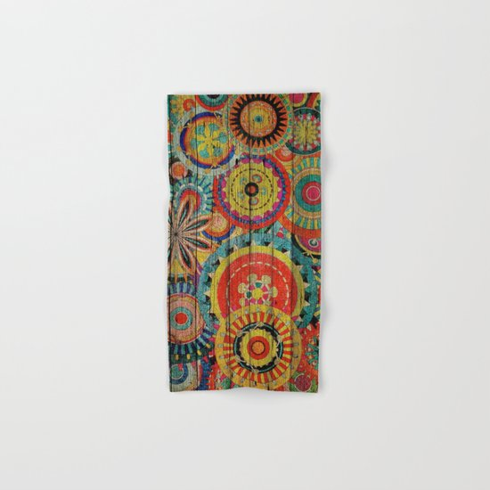 Kashmir on Wood 01 Hand & Bath Towel