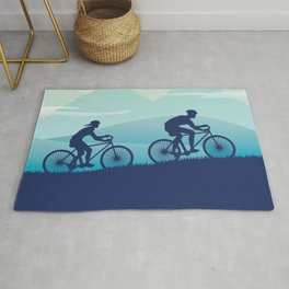 Dreamy Cycle Ride - Best Design Ever Rug