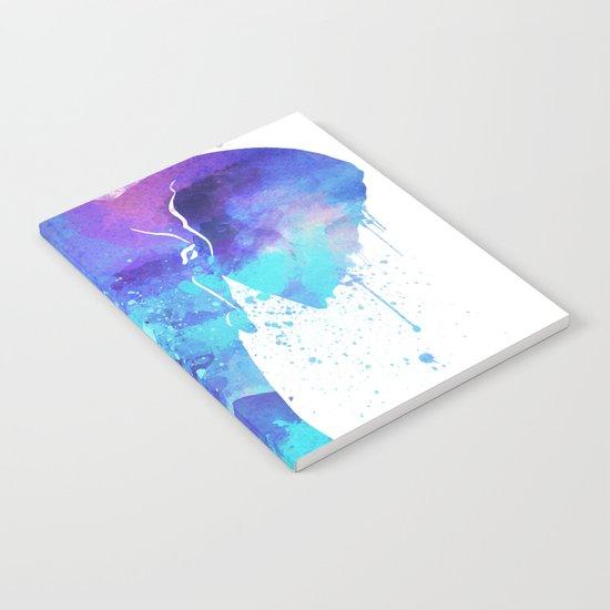 Watercolor Elephant Head Notebook