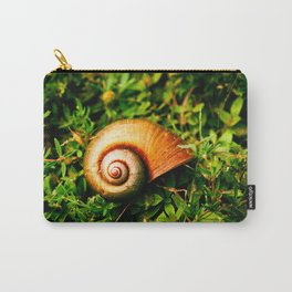 small shell between the leafs Carry-All Pouch
