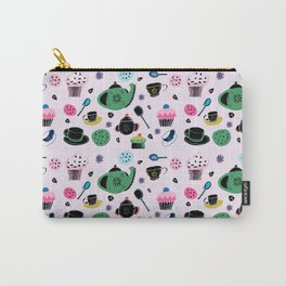 tea party light pink Carry-All Pouch