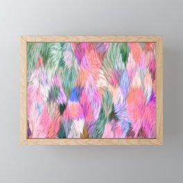 Faux Fur Framed Mini Art Print