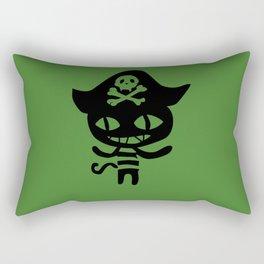 Chloe Pirate Cat Rectangular Pillow