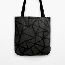 Ab Marble Zoom Black Tote Bag