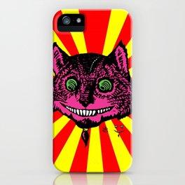 Cheshire Burst iPhone Case