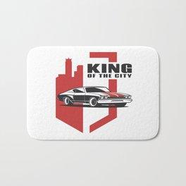 Muscle Car - the king Bath Mat