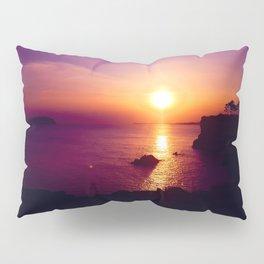 A beautiful sunset on Jeju Island Pillow Sham