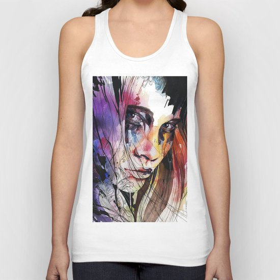 Eyes speak every language there is Unisex Tank Top