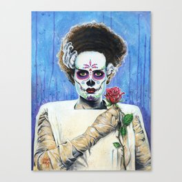 BRIDE OF THE DEAD Canvas Print