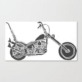 Moto Machina Canvas Print