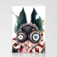 bucky Stationery Cards featuring Bucky by Maria Gabriela Arevalo Reggeti