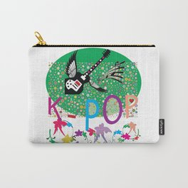 K-Pop Green Carry-All Pouch