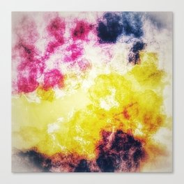Watercolor effect digital art Canvas Print