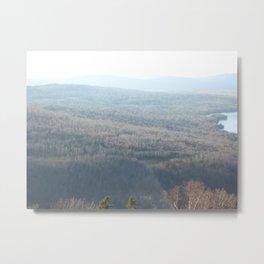 The Hills of New England Metal Print