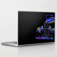 ford Laptop & iPad Skins featuring Ford Abstract by Beach Bum Pics