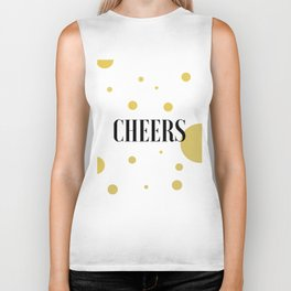 POP FIZZ CLINK Black And Gold Party Decorations Champagne Gift Champagne Quotes Cheers Sign Printabl Biker Tank