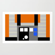 The Red 5 Art Print