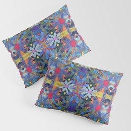 Garden Party - Blue Pillow Sham