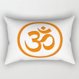 The Om Brahman Universal Self Rectangular Pillow