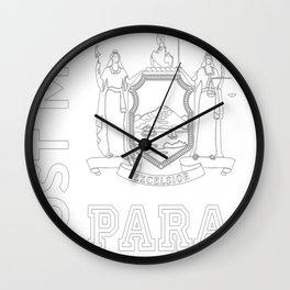 trust me im a paralegal Wall Clock