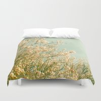 spring Duvet Covers featuring Spring by Cassia Beck
