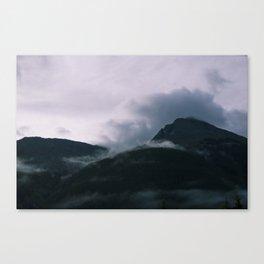 Cloud Collision - Silverton CO Canvas Print