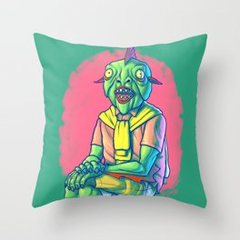 Thinking Of Buying Or Selling A Home?  Call Gilbert Merman Today! Throw Pillow